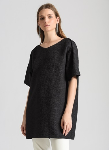 Ebru Günay Bluz Siyah